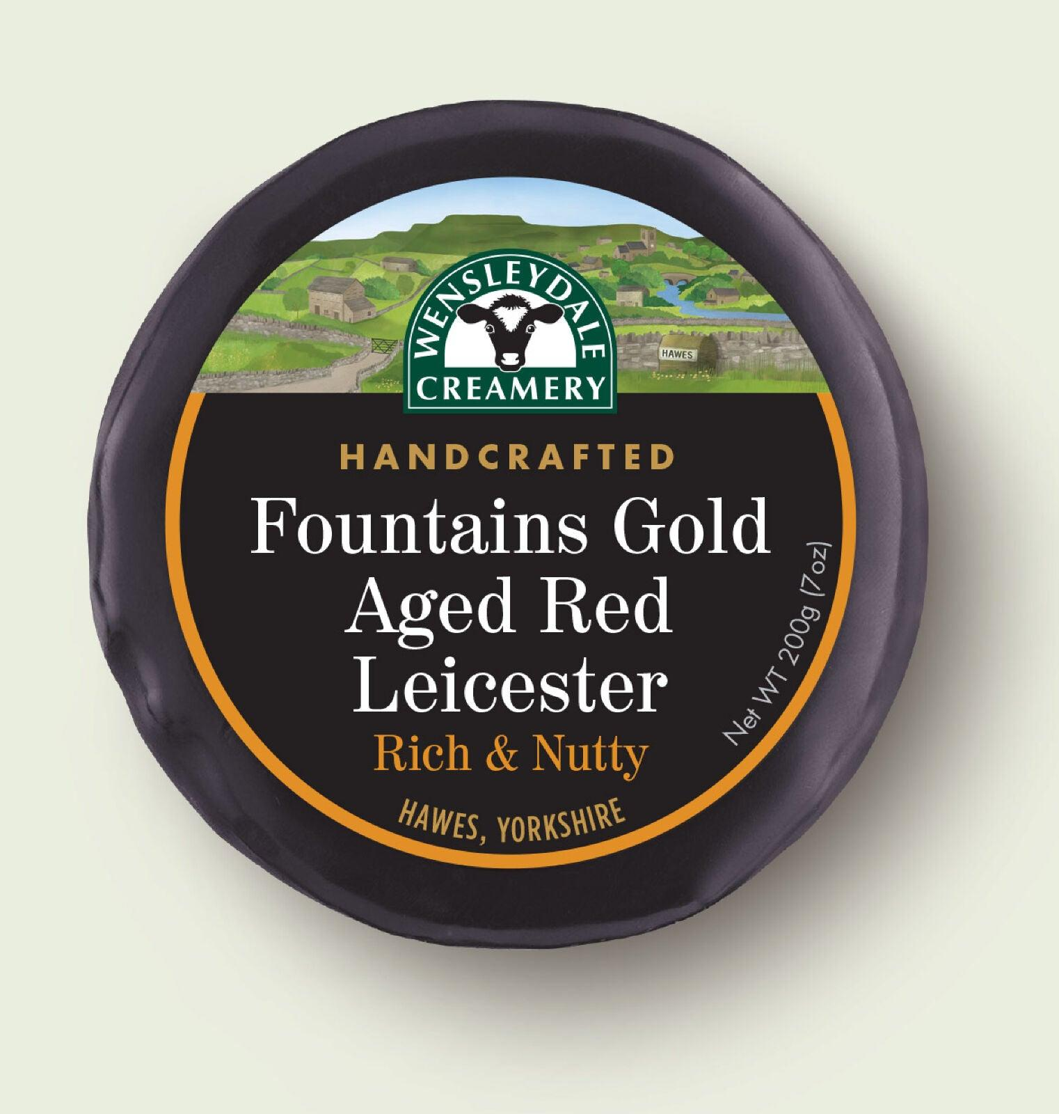 Wensleydale Aged Red Leicester 200g - Celebration Cheeses