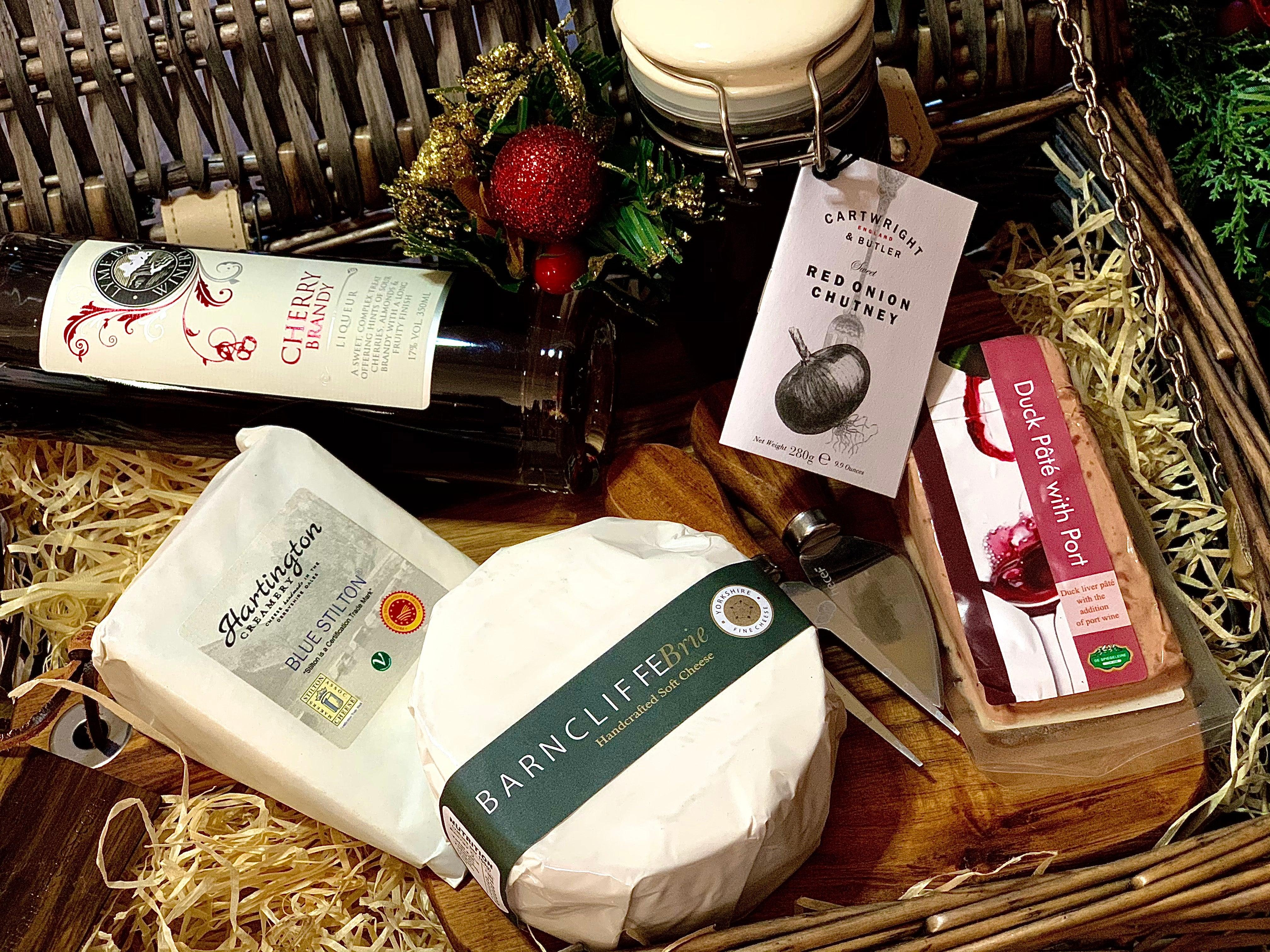 """Sweet Cheesus"" Cheese Hamper 400g (cheese weight) - Celebration Cheeses"