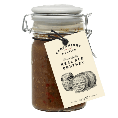 Cartwright & Butler Real Ale Chutney 250g - Celebration Cheeses