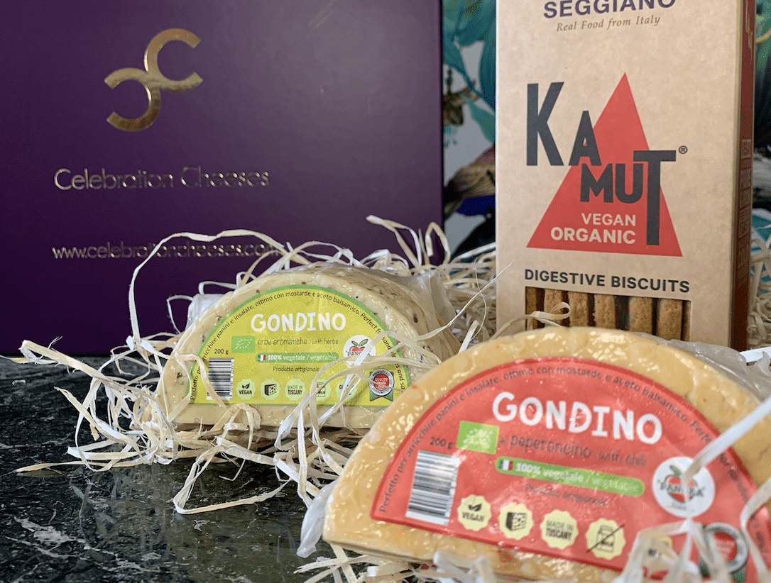 The Gondino Gift Box 800g (cheese weight) - Celebration Cheeses