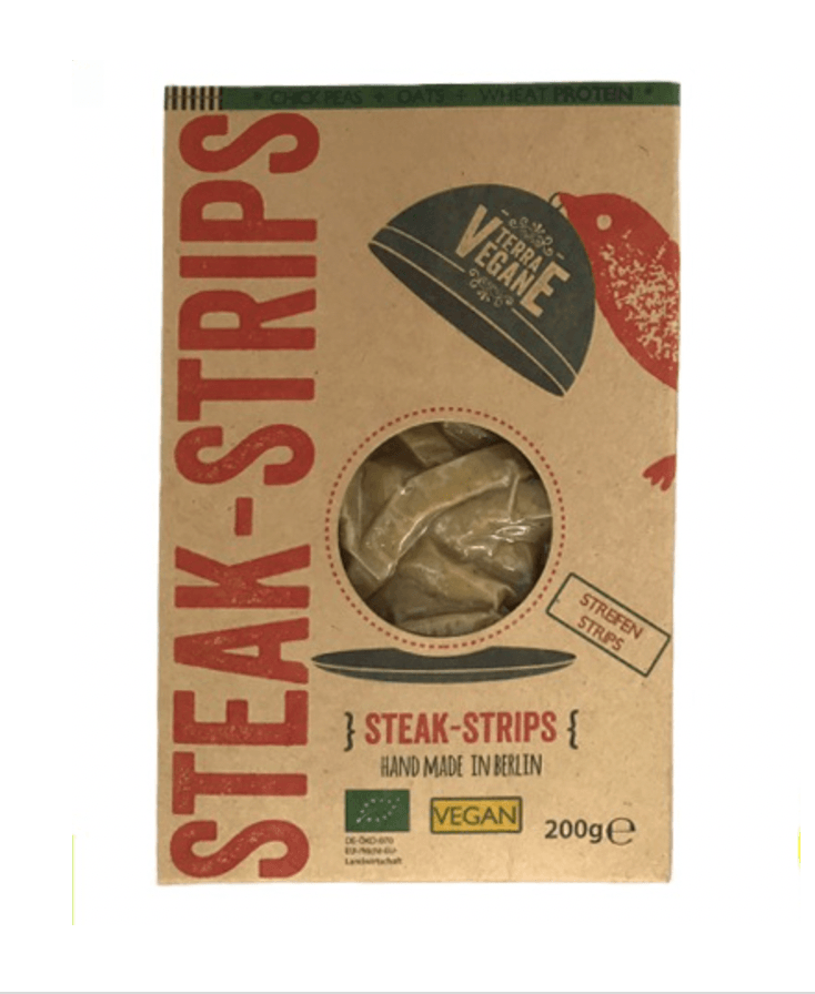 Terra Vegane Steak Strips 200g - Celebration Cheeses