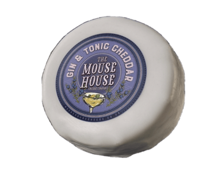 Mouse House Gin & Tonic Cheddar 200g - Celebration Cheeses