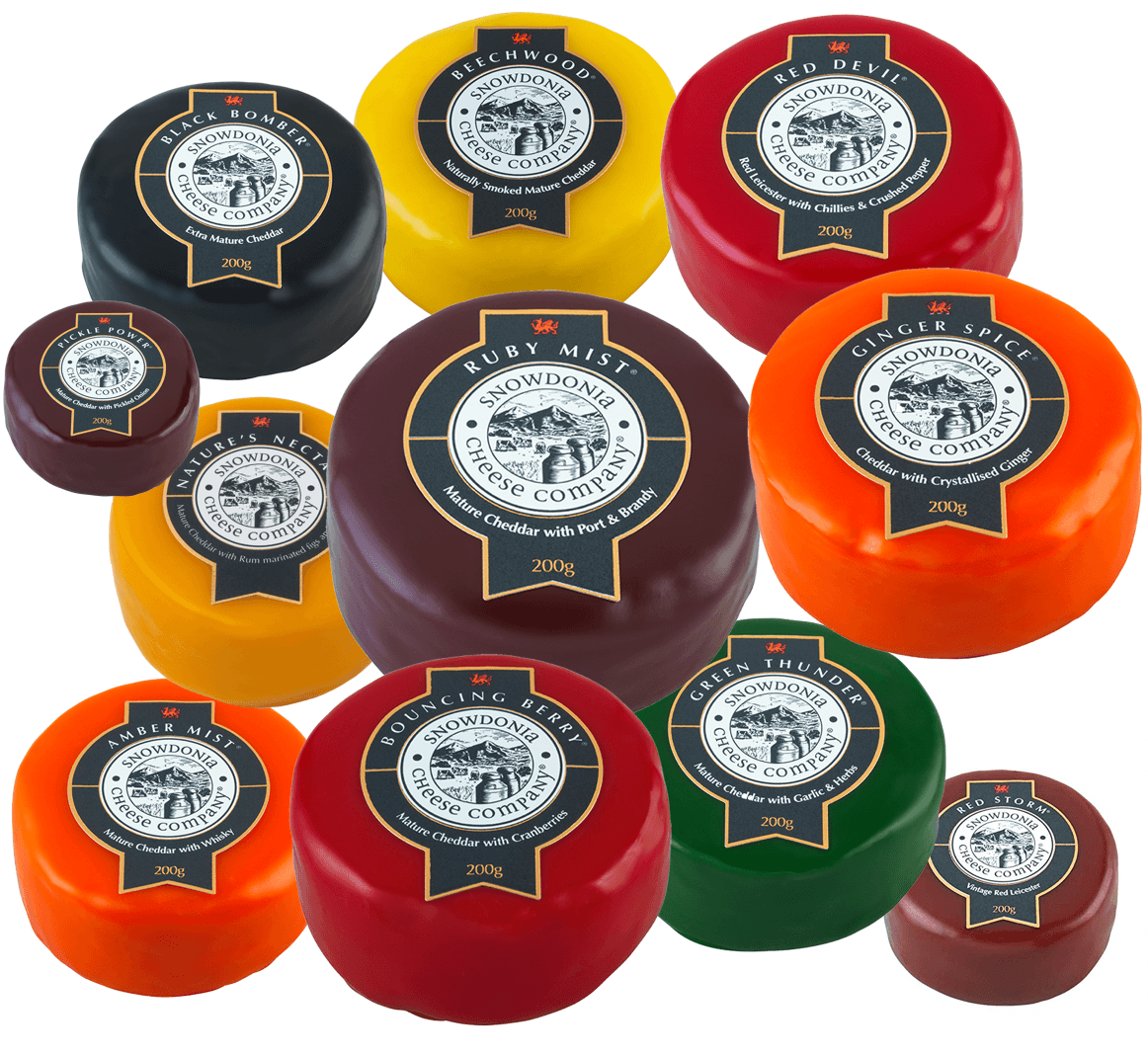 Snowdonia Bouncing Berry 200g - Celebration Cheeses