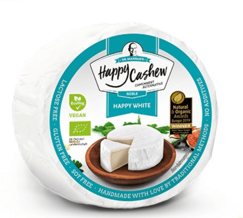 Happy Cashew Happy White (Camembert style) 100g - Celebration Cheeses