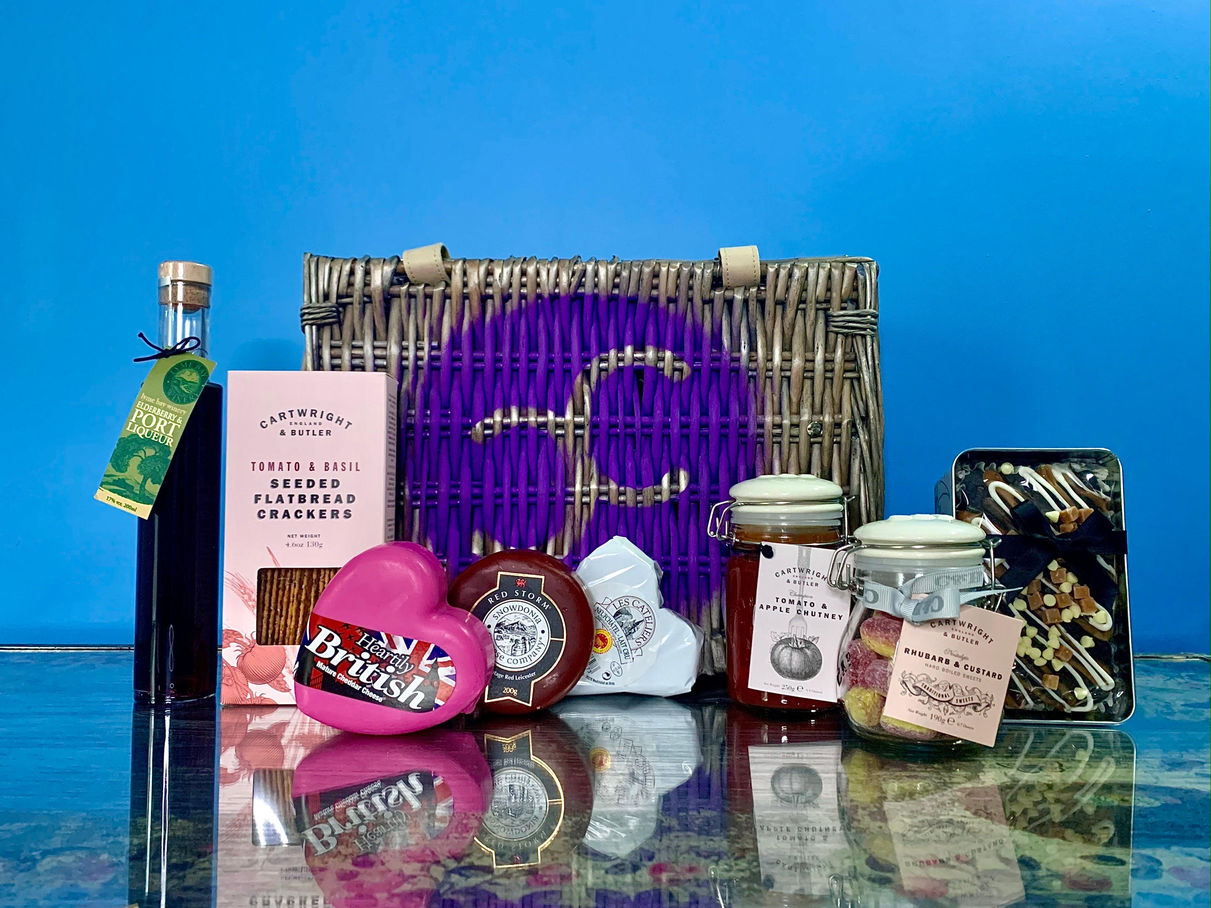 """Signed Sealed Delivered"" Cheese Gift Hamper 600g (cheese weight) - Celebration Cheeses"