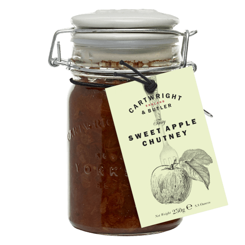 Cartwright & Butler Sweet Apple Chutney 250g - Celebration Cheeses