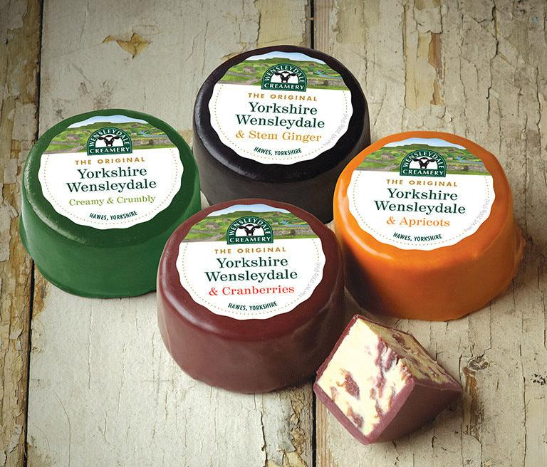 """Wensleydale Four You"" Cheese Gift Box 800g (cheese weight) - Celebration Cheeses"