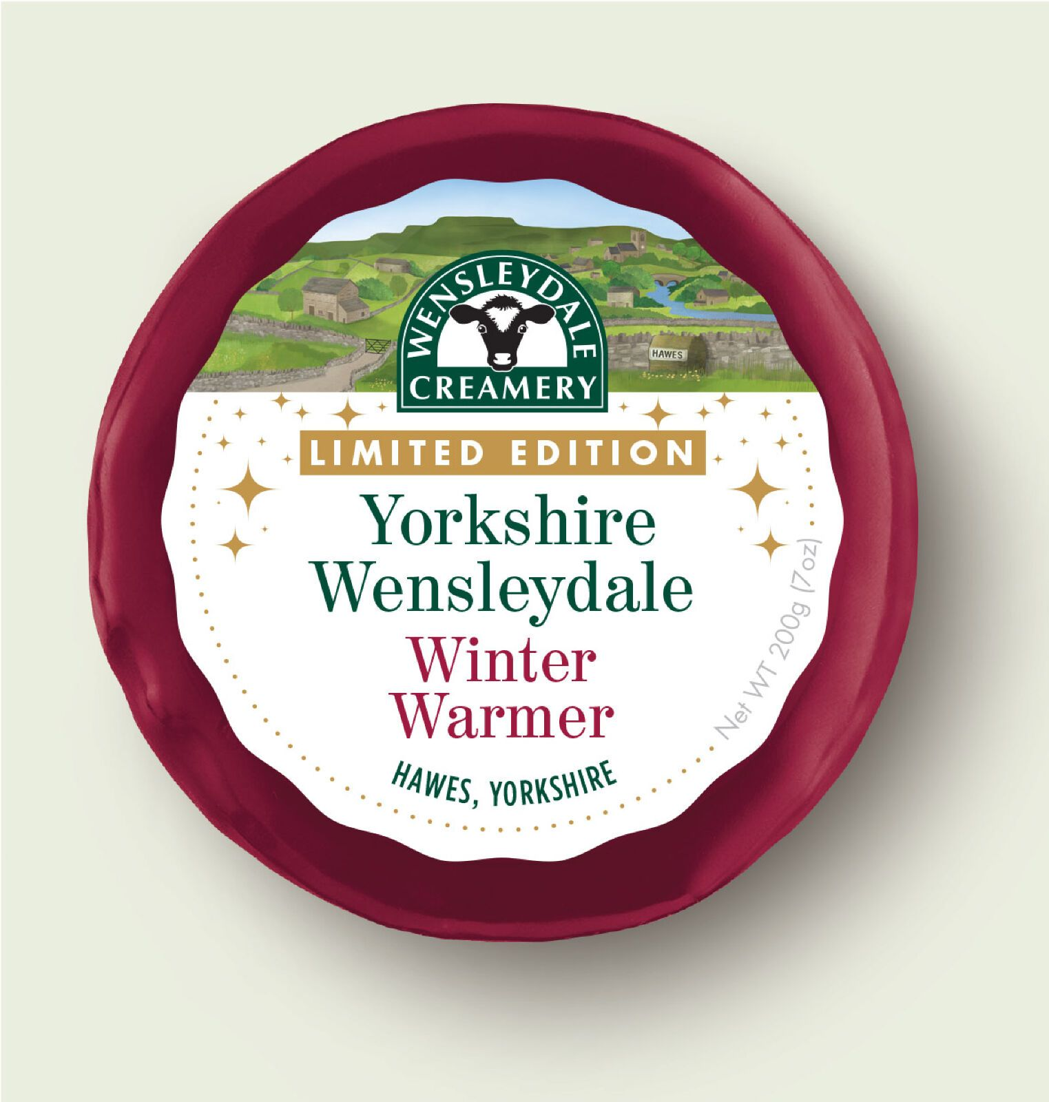 Wensleydale LIMITED EDITION Winter Warmer 200g - Celebration Cheeses