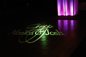 Dance Floor Monogram At The Kalahari Sandusky Ohio