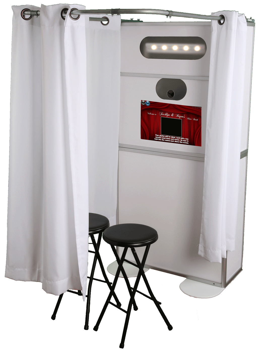 Photo Booth Rental Ohio White Booth