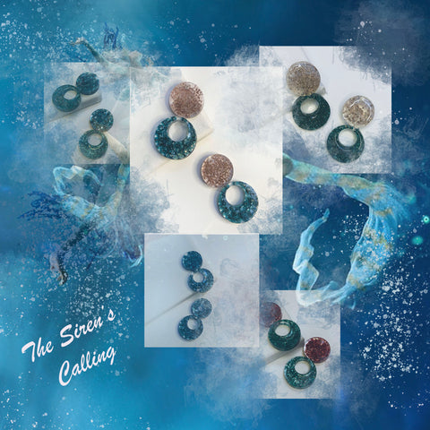 The Siren Statement Earring Collection by Sheena Solis