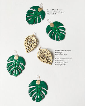 The House Plant Lover Statement Earrings