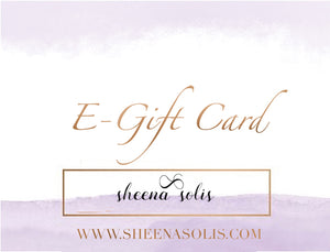 E-Gift Card Sheena Solis