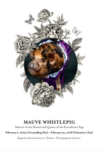 WhistlePig The Boss Hog V - The Spirit of Mauve - 2018 Edition - 75cl (without Gift Box)