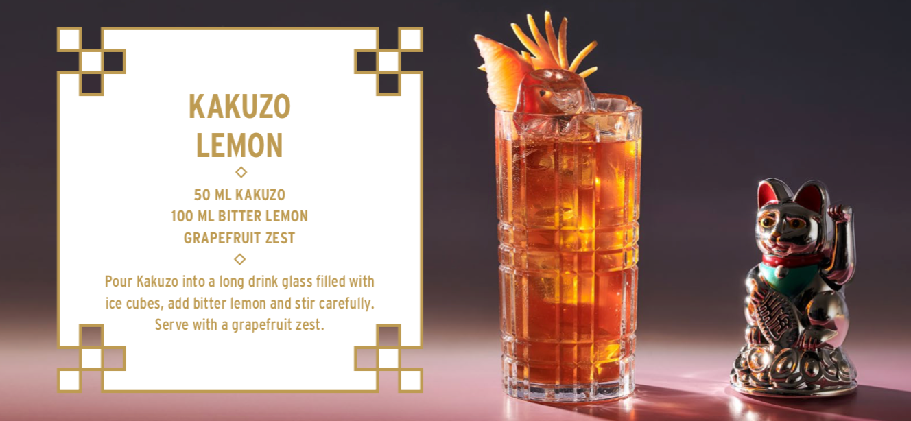 KAKUZU Earl Grey tea infused Vodka