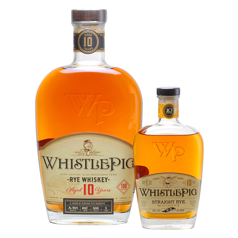 LIMITED EDITION WhistlePig 10YR Straight Rye Whiskey 3L (free delivery)