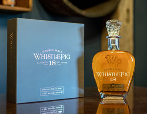WhistlePig 18YR Double Malt Whiskey (free delivery)
