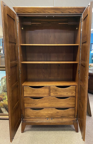 Shaker Style Armoire / Media Storage Ctr