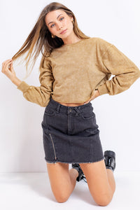 THE LIVY DENIM SKIRT