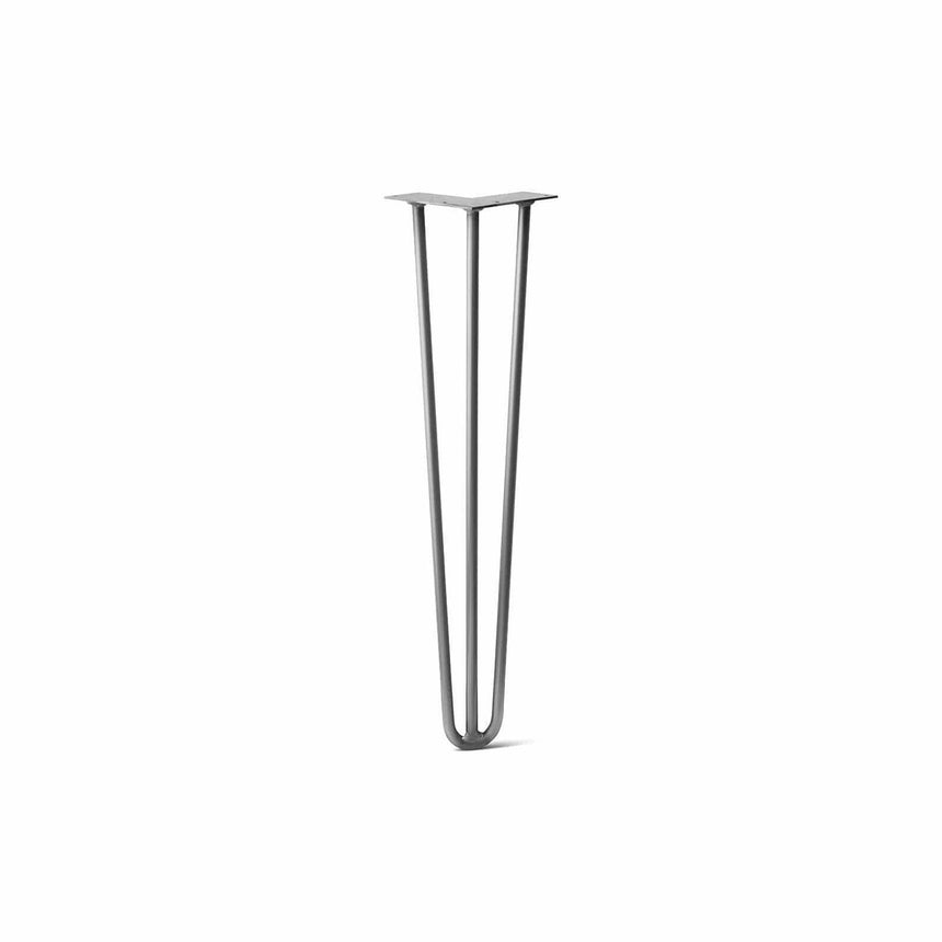 DIY Hairpin Legs Hairpin Legs Raw Hairpin Leg (Sold Separately), 3-Rod Design - Raw Steel