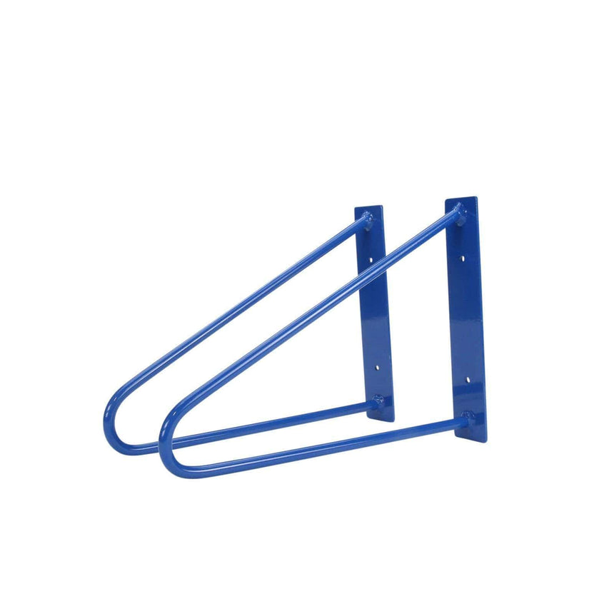 DIY Hairpin Legs Shelf Brackets Pair of Original Hairpin Shelf Brackets | Floating Desk Brackets - Blue