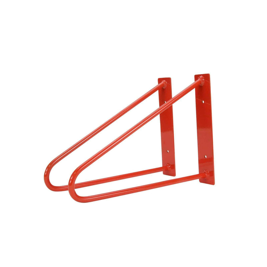DIY Hairpin Legs Shelf Brackets Pair of Original Hairpin Shelf Brackets | Floating Desk Brackets - Orange-Red