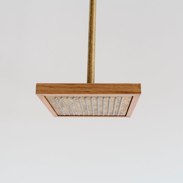 Otis timber framed shower head package
