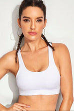 Load image into Gallery viewer, Criss Cross Tape Sports Bra