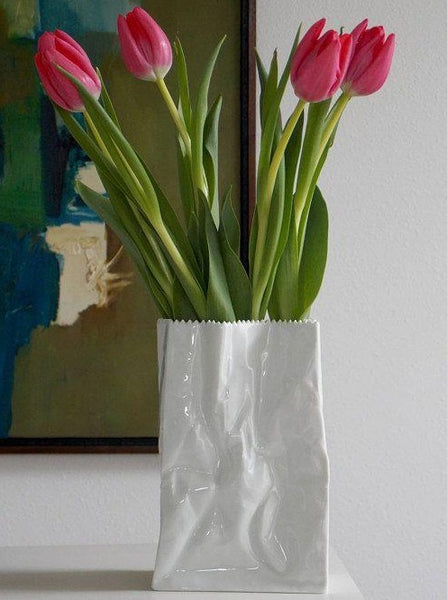 Paper Bag Mini Vase 9cm