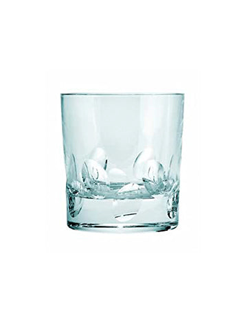 Cluny Double Old Fashion. Crystal Glass