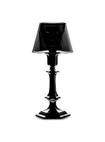 HARCOURT OUR FIRE CANDLESTICK BLACK