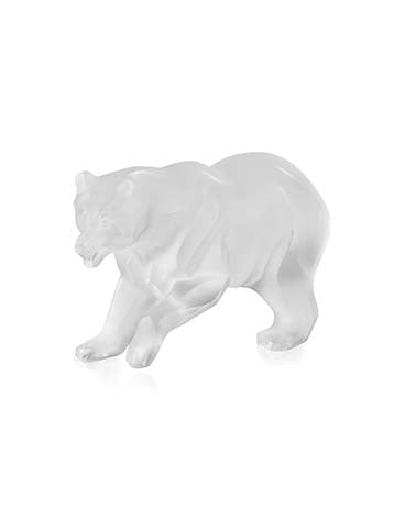 Ours Bear Sculture Clear