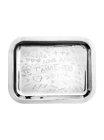 Rectangular Tray grafitti 26x20 cm
