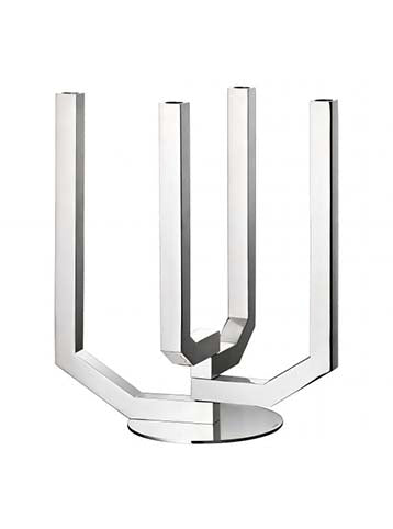 Steel 4 Light Candelabra. Arborecence