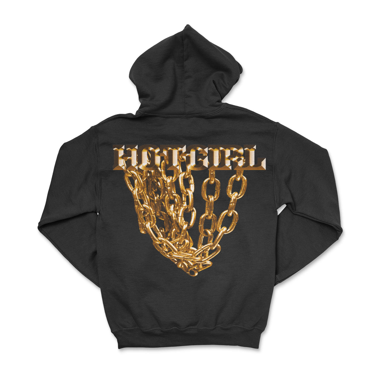 Golden Hot Girl Hoodie