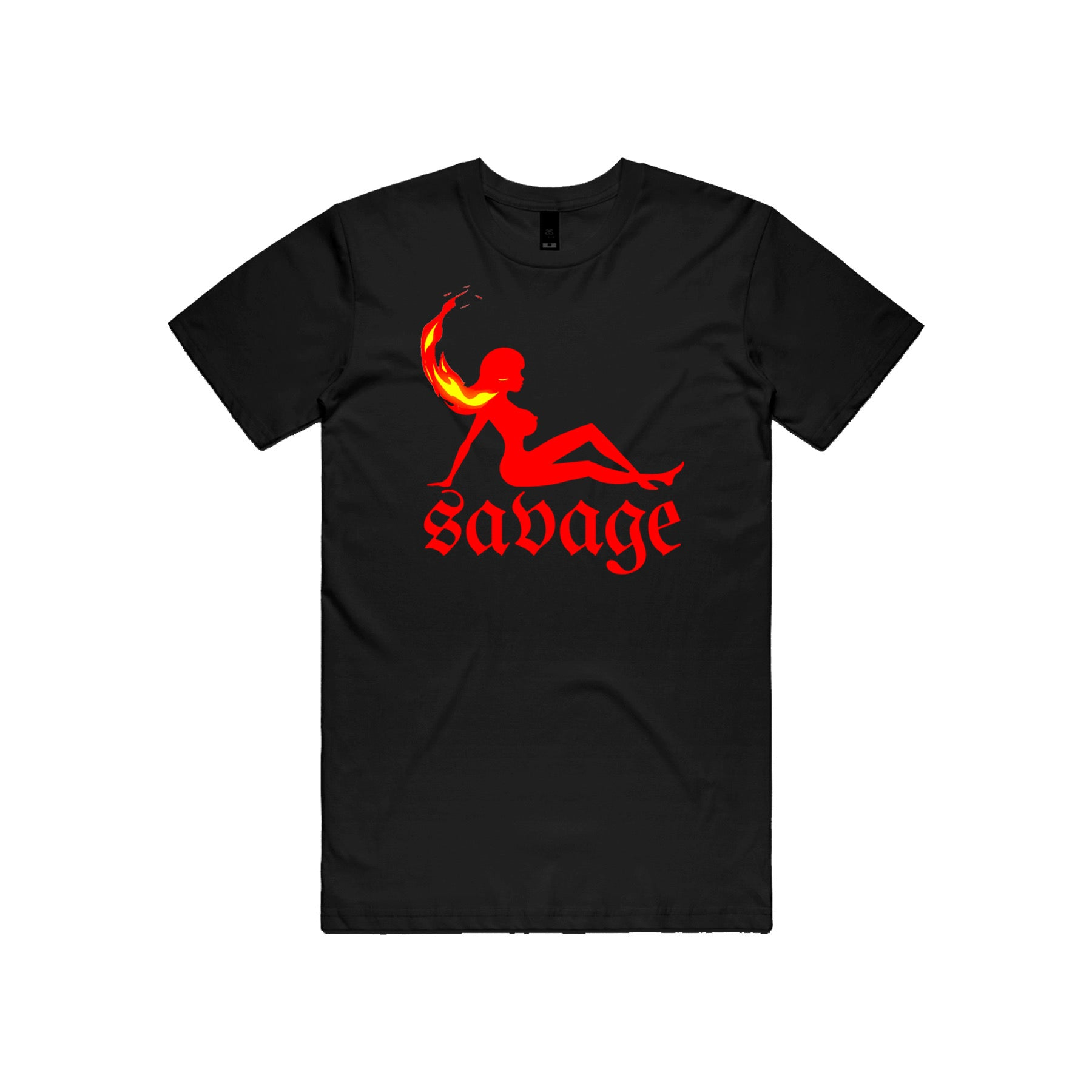 Savage Angel T-Shirt (Black)
