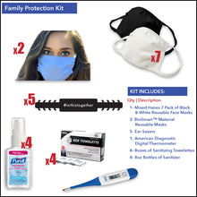 Load image into Gallery viewer, Family Protection Kit - Front Desk Supply