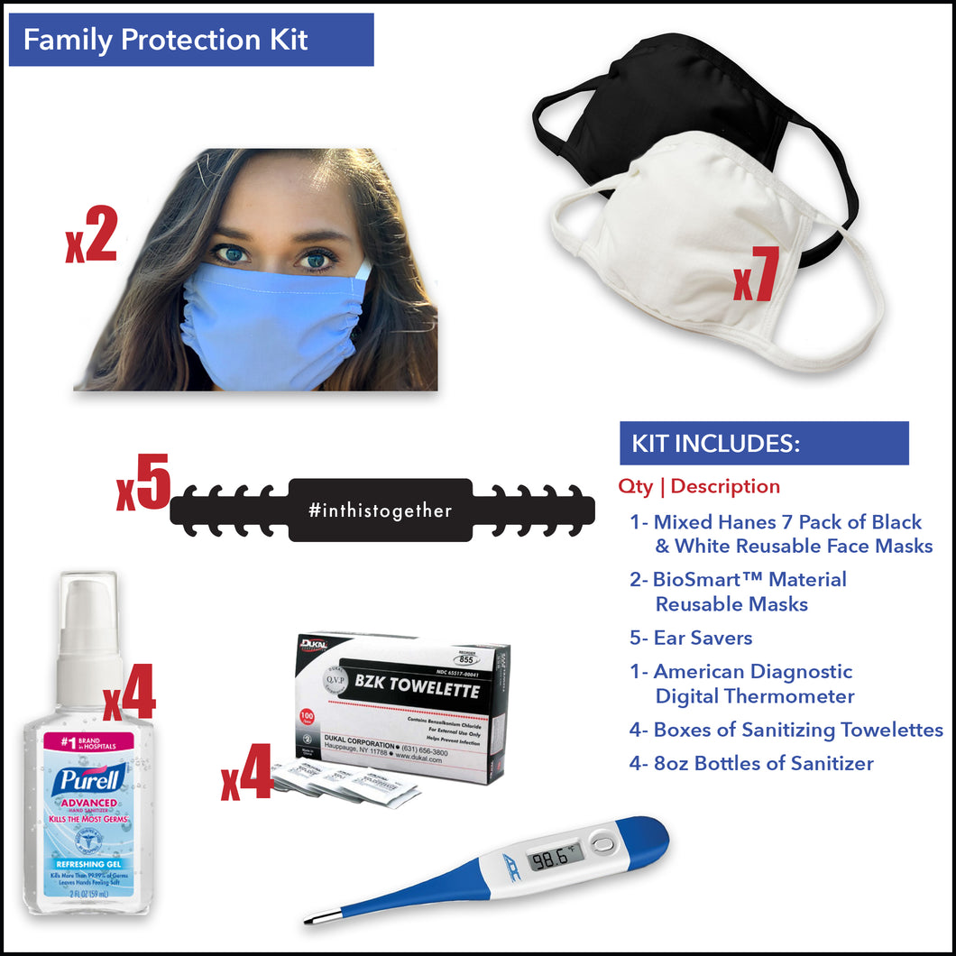 Family Protection Kit - Front Desk Supply