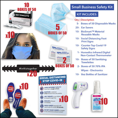 Small Business Safety Kit - Front Desk Supply