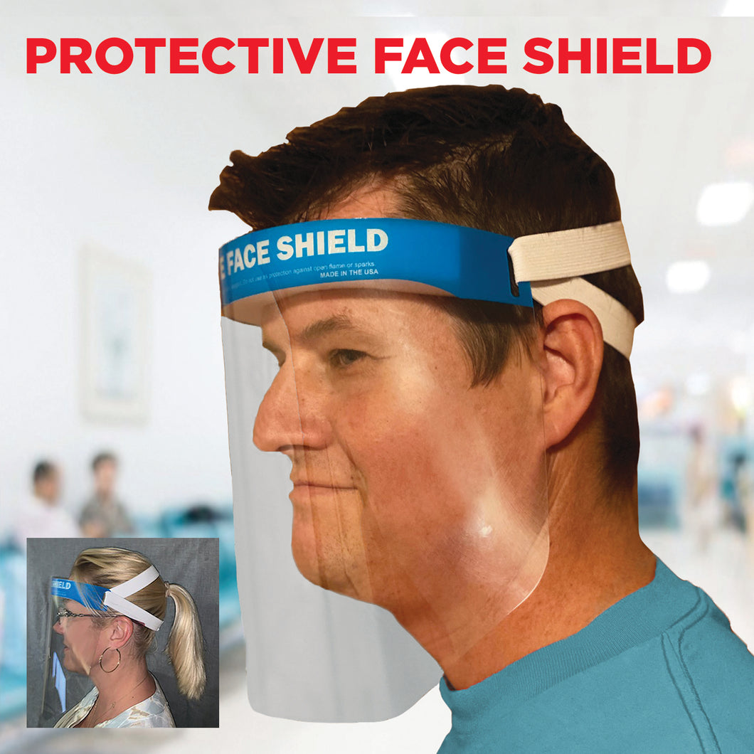 3635 ComfortShield™ Protective Face Shield - Set of 25 - Front Desk Supply