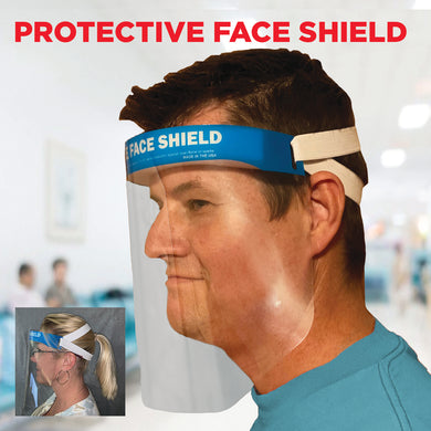 3635 ComfortShield™ Protective Face Shield - Set of 100 - Front Desk Supply