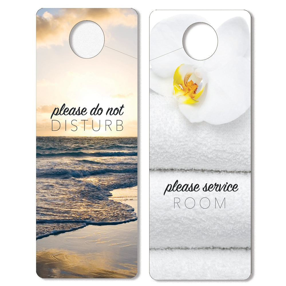 Generic Do Not Disturb Signs - Front Desk Supply