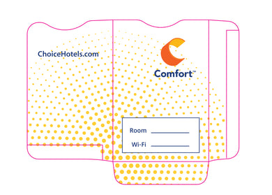 Comfort Inn® Key Sleeves - Box of 500 - Front Desk Supply