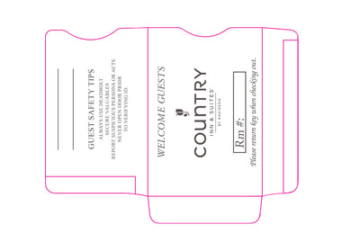 Country Inn & Suites® Key Sleeves - Box of 500 - Front Desk Supply