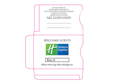Holiday Inn Express® Key Sleeves - Box of 500 - Front Desk Supply