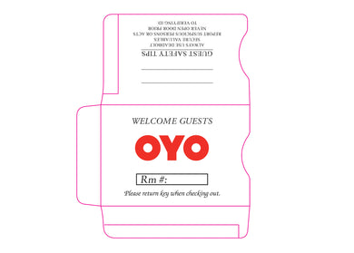OYO® Key Sleeves - Box of 500 - Front Desk Supply