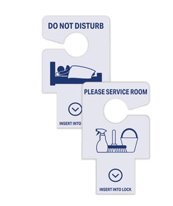 Lock Insert Style Do Not Disturb Signs - Set of 50 - Front Desk Supply