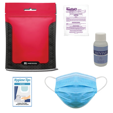 Ultimate PPE Kit - Set of 250 - Front Desk Supply