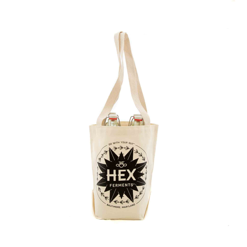 HEX Ferments - canvas tote bag