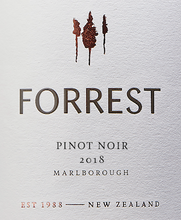 Load image into Gallery viewer, PINOT NOIR, Forrest Estate, Marlborough, New Zealand
